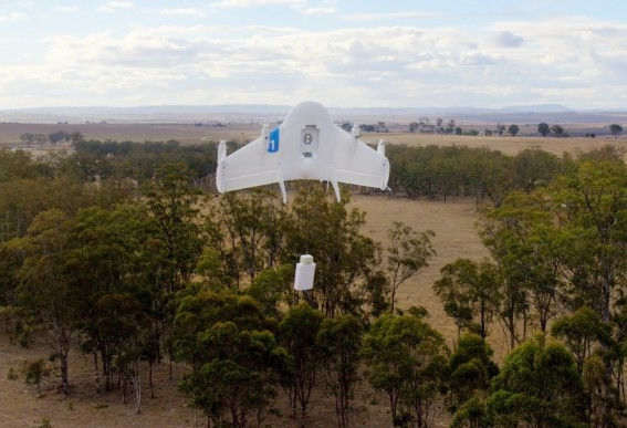 Project Wing Drone Google