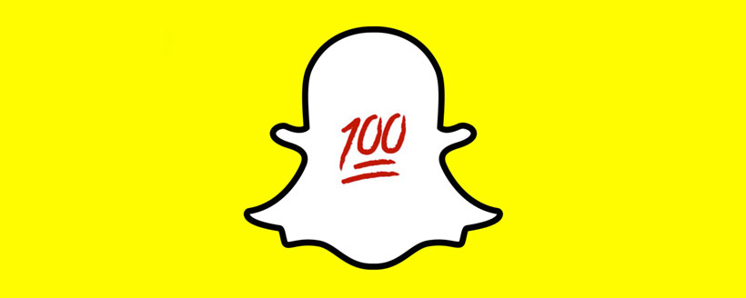 signification 100 souligné snapchat