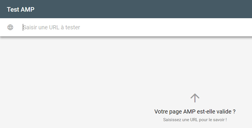 outil google test pages amps