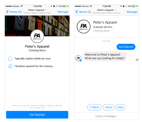 ranking chatbot messenger discover