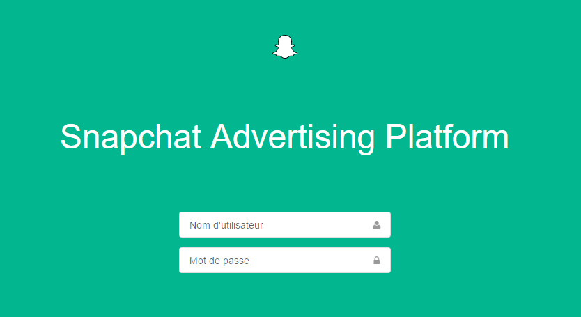 ads manager Snapchat