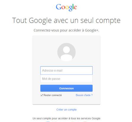 connexion-google-plus