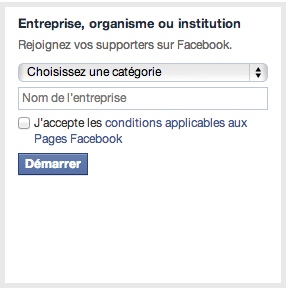 Entreprise - Facebook