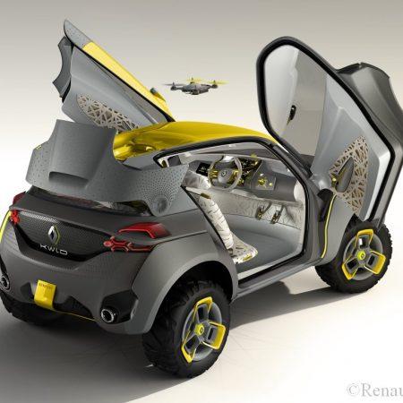 Innovation Renault : le Concept KWID et son drone