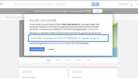 Google Plus : comment ajouter rel=publisher à votre site WordPress ?