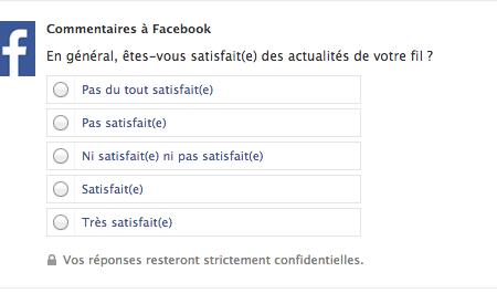 Facebook cherche à améliorer son fil d'actualité !
