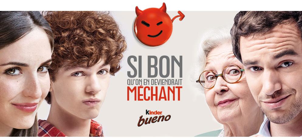 Kinder Bueno : Guerilla Marketing