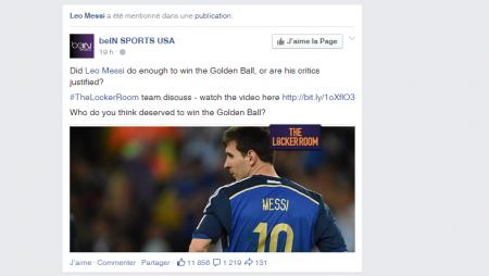 Facebook : le contenu d'une page que vous ne suivez pas