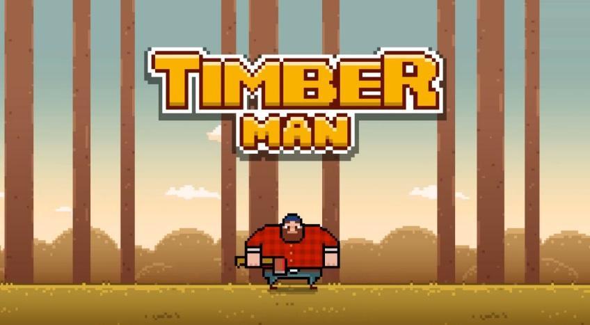 Timberman le nouveau jeu sur iOS et Android