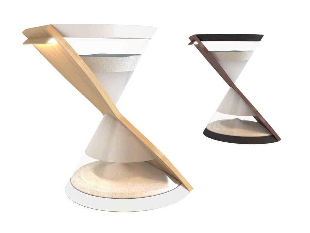 HourglassTableLamp