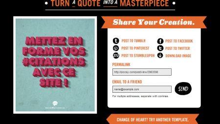 ReciteThis : un outil pour mettre en forme des citations pour les réseaux sociaux !