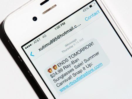iMessage : 1 SMS de Spam sur 3 est envoyé via iMessage