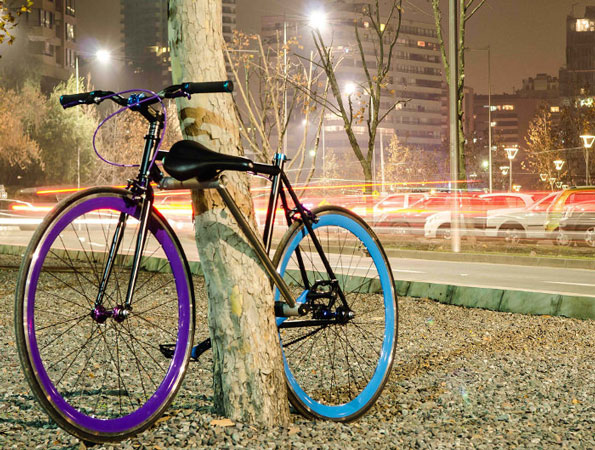 Vélo inviolable - Projet Yerka