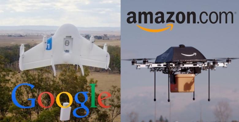 Amazon Google Livraison par Drone
