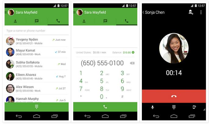 Appels Gratuits avec Google Hangouts