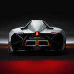 Lamborghini Egoista Arrière