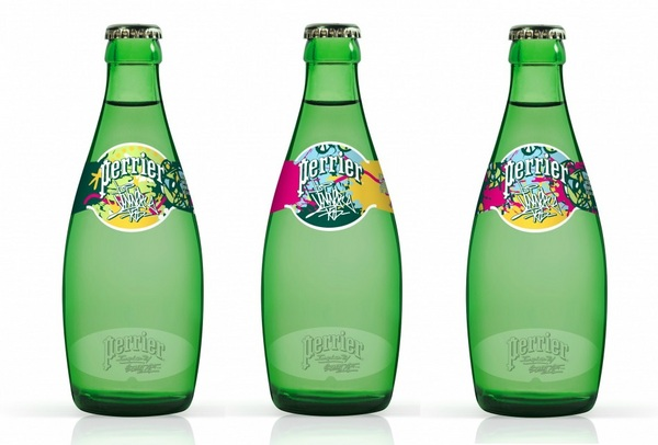 Inspired by street art Perrier JonOne