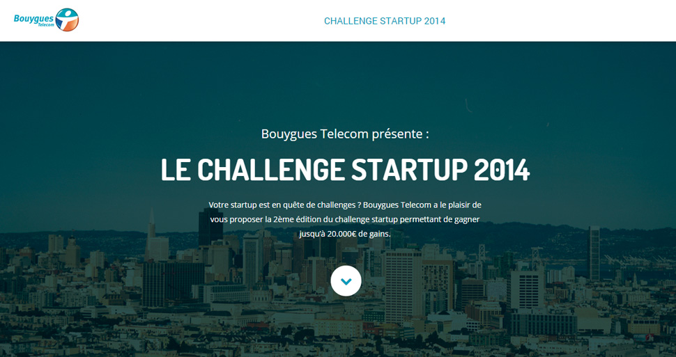 Challenge Startup 2014 Bouygues Telecom