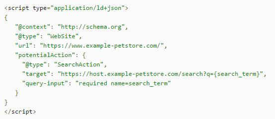 Code barre de recherche Google