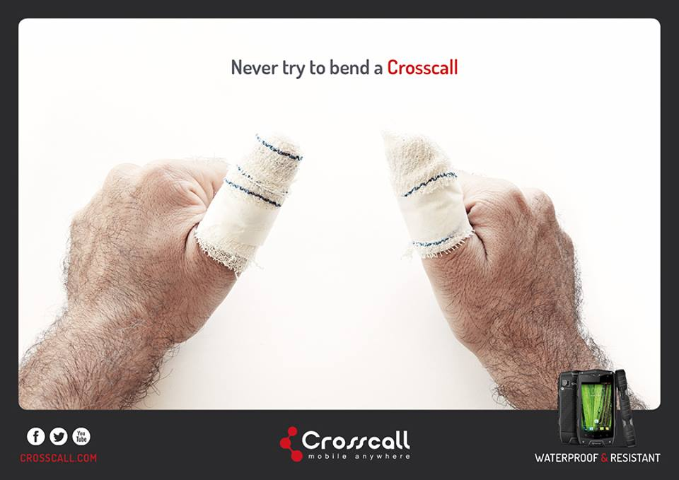 Crosscall Bendgate