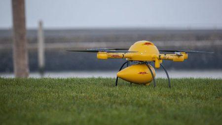 Livraison par drone : DHL prend de l'avance sur Amazon et Google