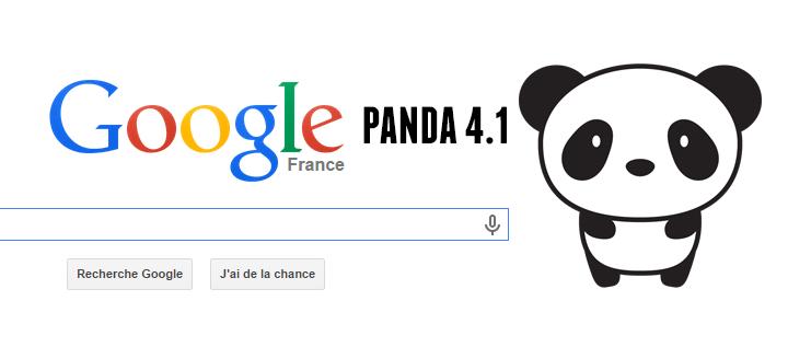 Mise à jour Google Panda 4-1