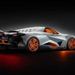 Arrière Lamborghini Egoista