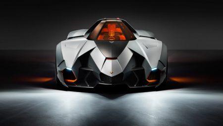 Lamborghini Egoista, un avion de chasse surpuissant à 4 roues !