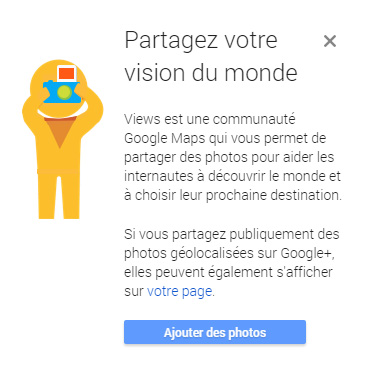 Nouveau Google Maps View