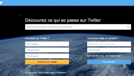 Webdesign : Twitter dévoile sa toute nouvelle page d'accueil !
