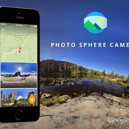 Photo Sphere Camera : l'application pour faire des photos à 360°