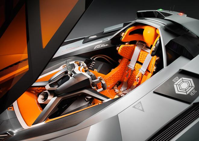 Cockpit de Pilotage Lamborghini Egoista