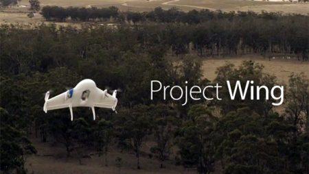 Google Project Wing : la livraison par drone made in Google !