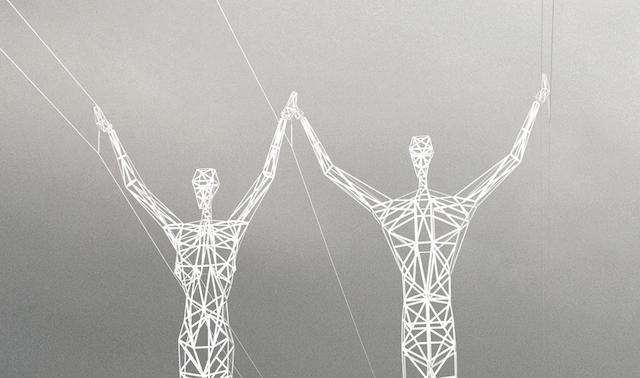 Pylone Electrique forme Humaine