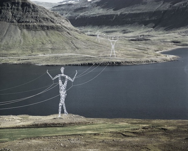 Pylone Electrique Islande