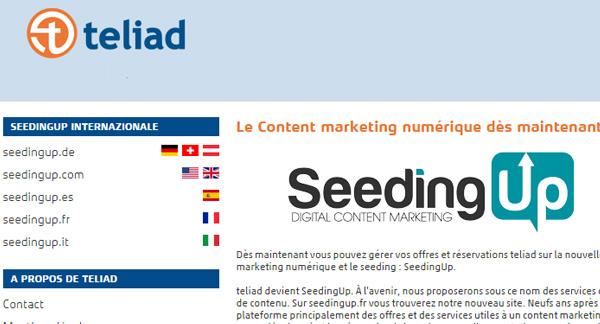 Teliad devient Seedingup