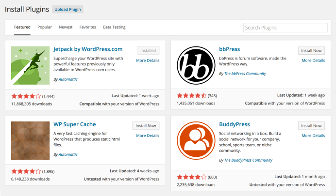 Wordpress 4.0 Plugin