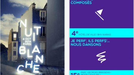 Nuit Blanche Paris 2014 : programme et carte disponible sur l'application dédiée