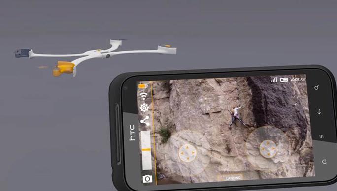 Drone Nixie Camera