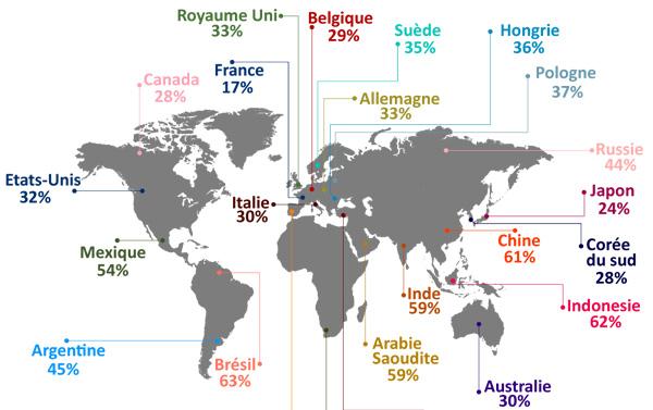 France Importance Réseaux Sociaux