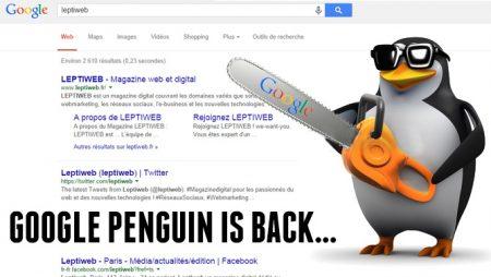 Google Penguin 3.0 : mise à jour majeure imminente !