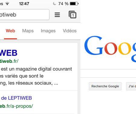 Google met en avant les sites mobile / responsive dans ses résultats de recherche