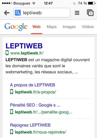Icone Site Mobile Responsive Google