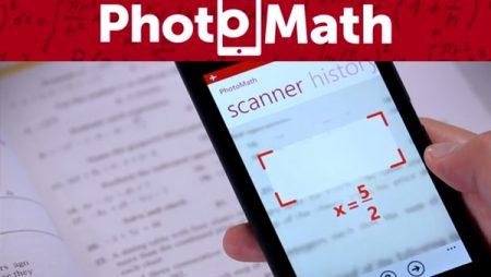 PhotoMath : l'application en réalité augmentée qui résout les équations mathématiques !