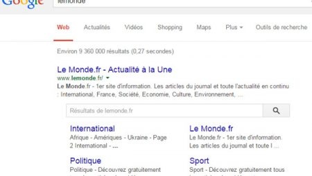 Google : la searchbox accusée de voler du trafic aux éditeurs !