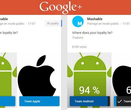 Comment créer un sondage sur Google Plus ?