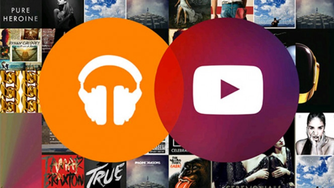 YouTube Music Key Streaming Musique