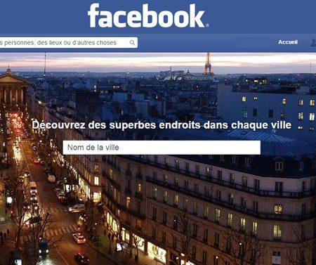 Facebook Places : le nouvel annuaire local de pages Facebook !