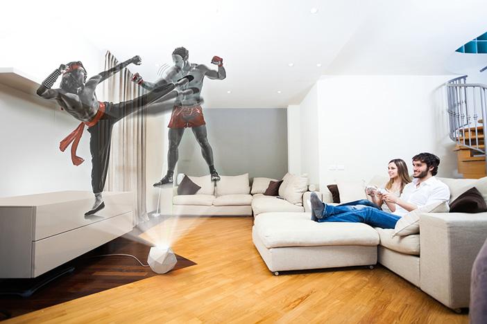 Bleen projecteur jeux 3D