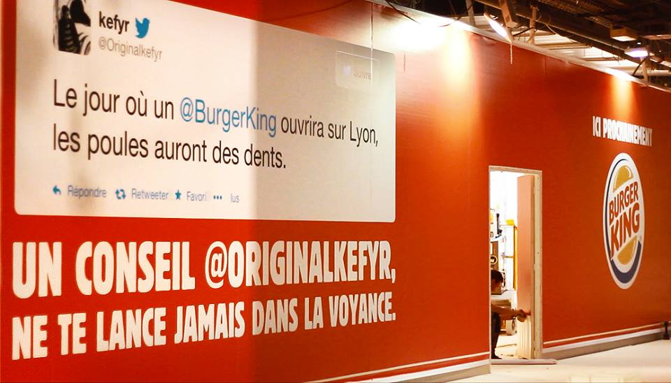 Burger King Lyon Tacle